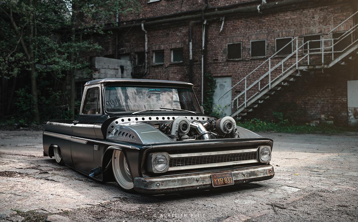 Badass Chevy Pickup Part 1 1966 C10 On Behance