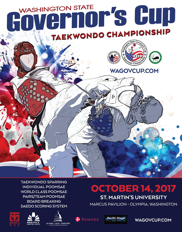 Washington State Governor's Cup Taekwondo Championship on Behance