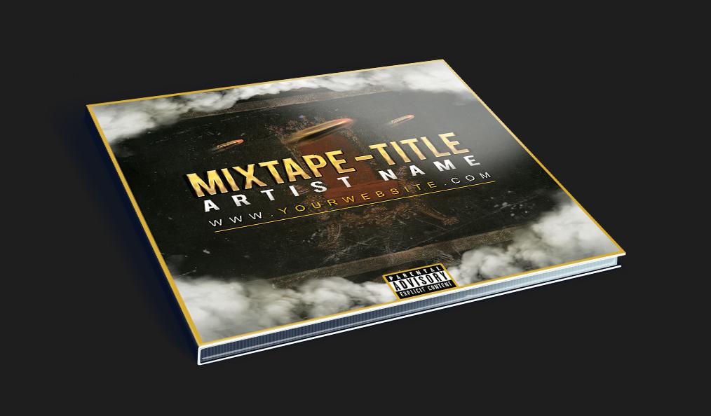 Hip Hop Mixtape CD Cover PSD Template on Behance