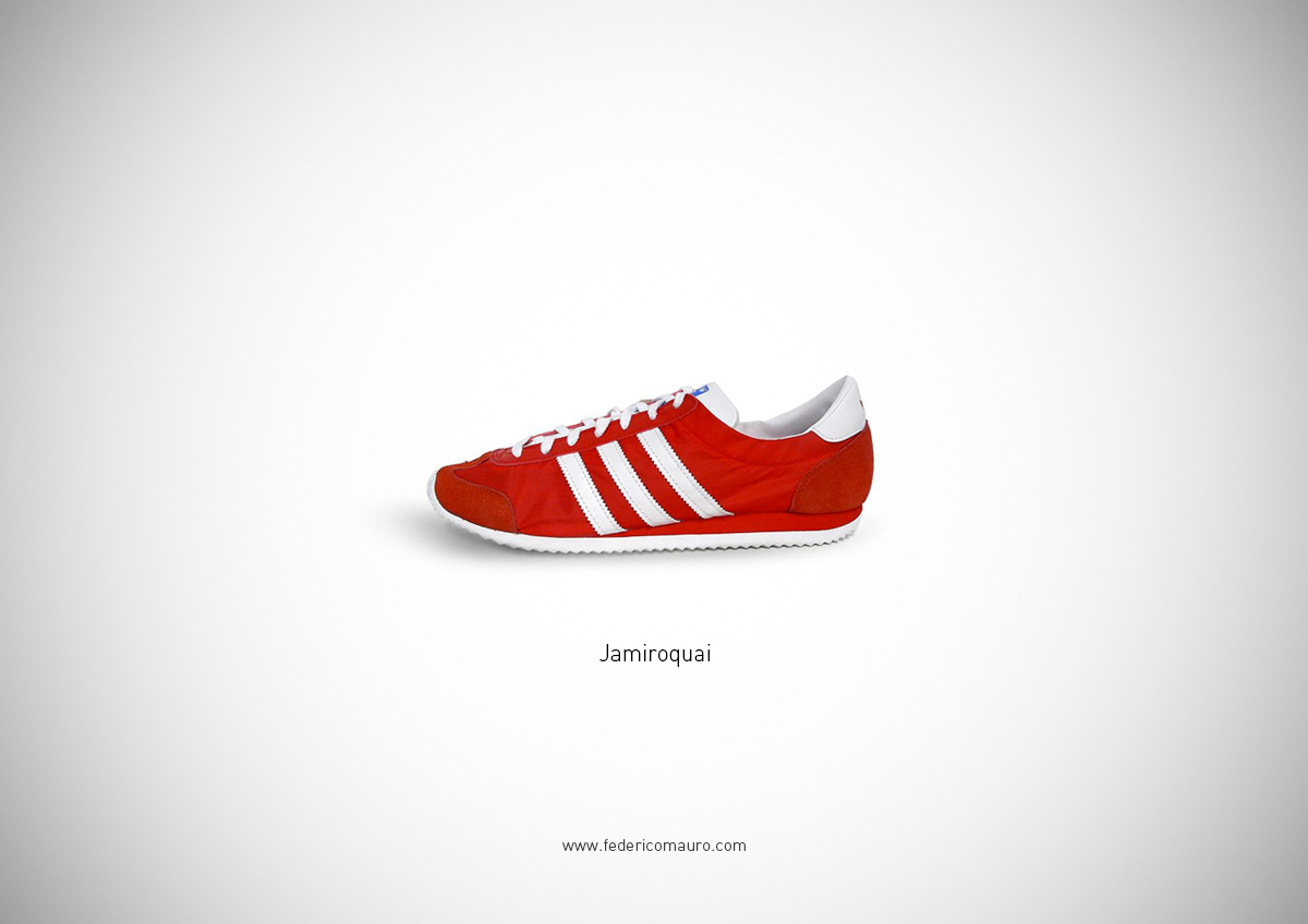Famous shoes on behance