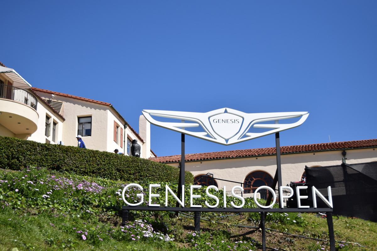 golf genesis car automobiles gold course PACIFIC PALISADES Los Angeles