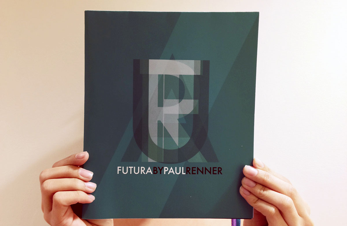 type specimen sheet Futura mailer paul renner print New York back to futura poster
