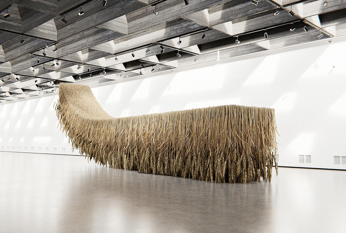 architecture art concept contemporary FINEART gallery installation modern museum sculpture