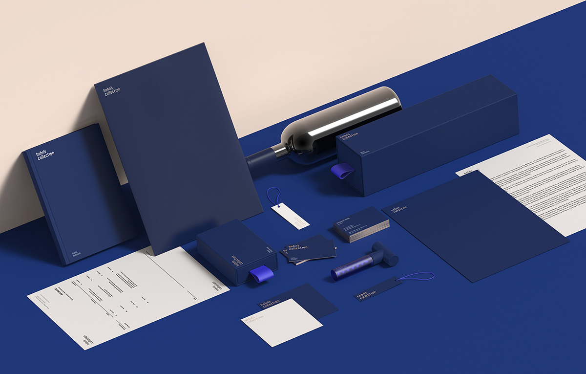 Hahn S Collection Brand Identity On Behance
