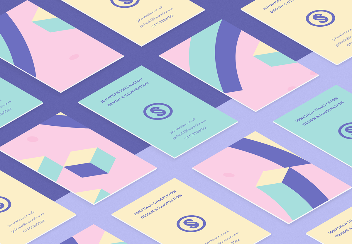 personal Freelance Business Cards identity Self Promotion