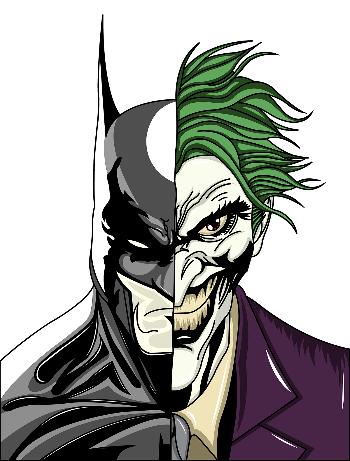 Batman & Joker on Behance
