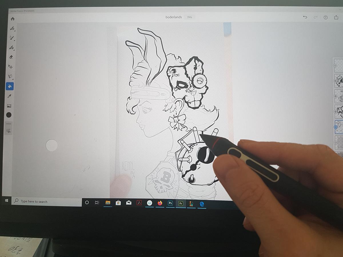 Image may contain: computer, art and drawing