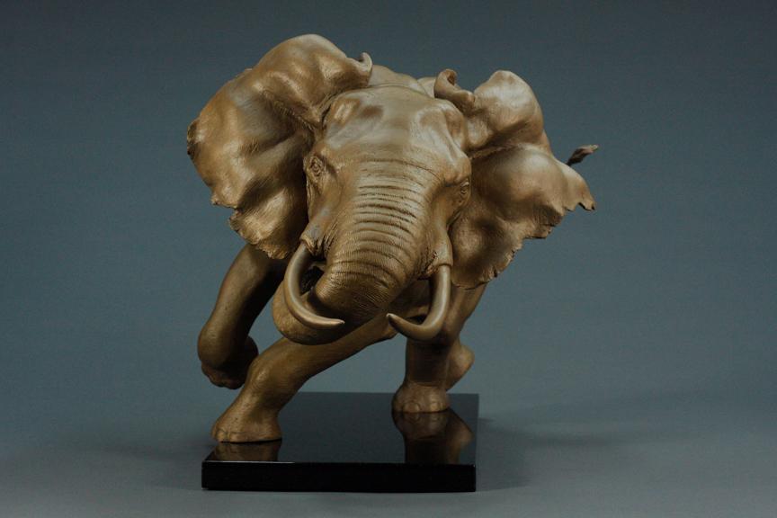 sculpture animalsculpture bronze