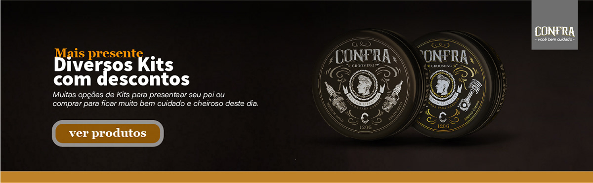 banner campanha CONFRA dia dos pais Presentes promo site