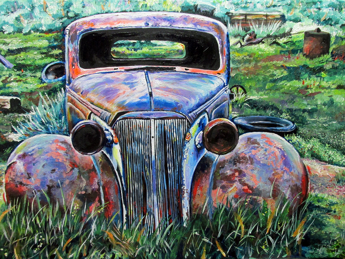 Junked Cars Concentration on Behance