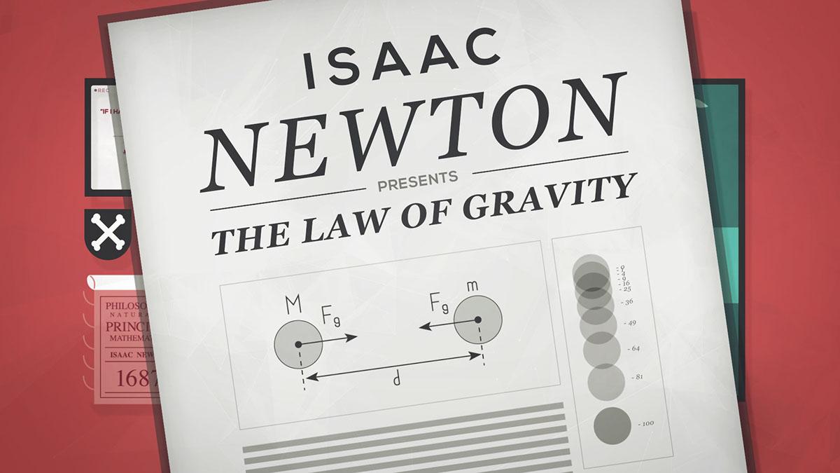 copyright Creativity Newton law users motion infographics