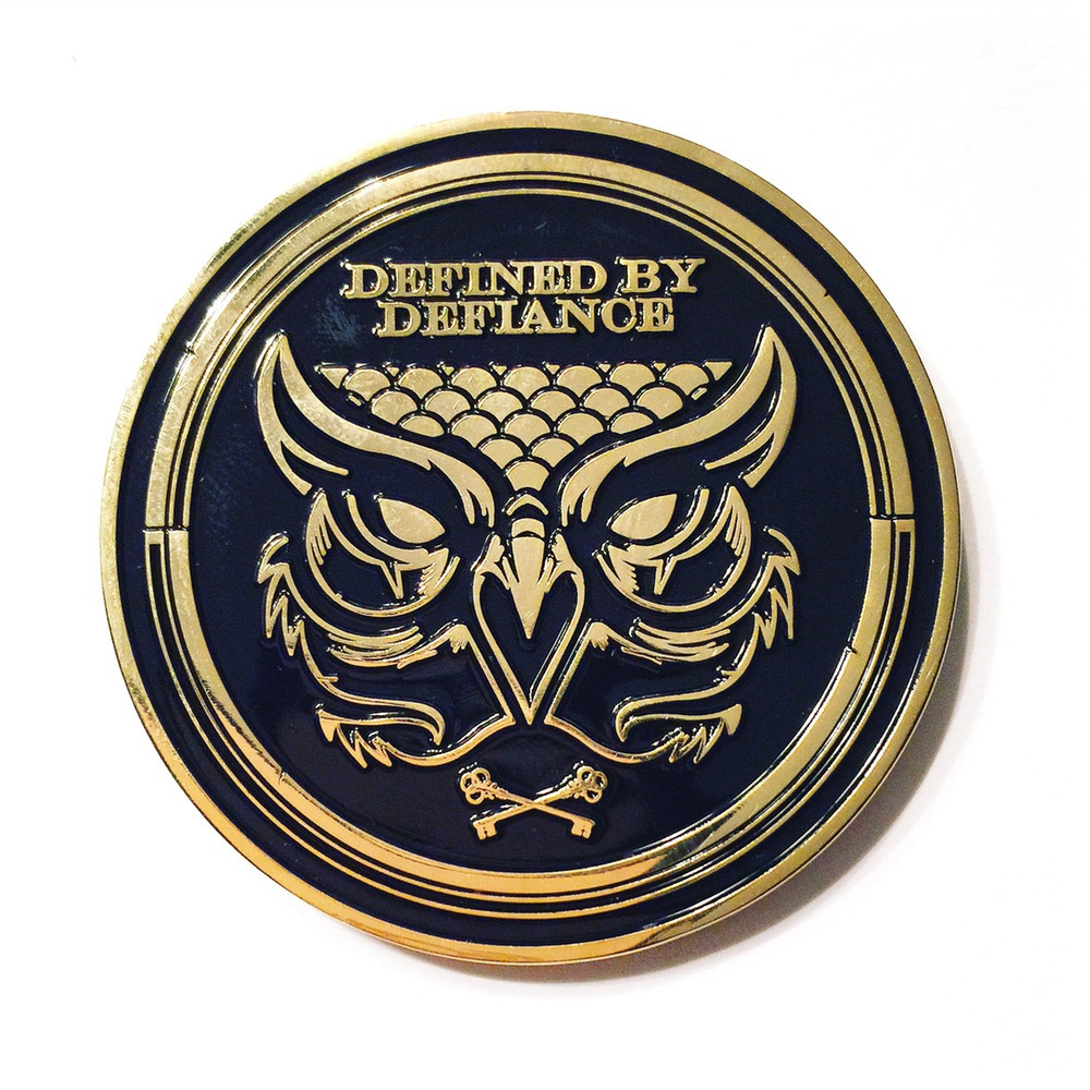 Hydro74 Business Card Coin on Behance