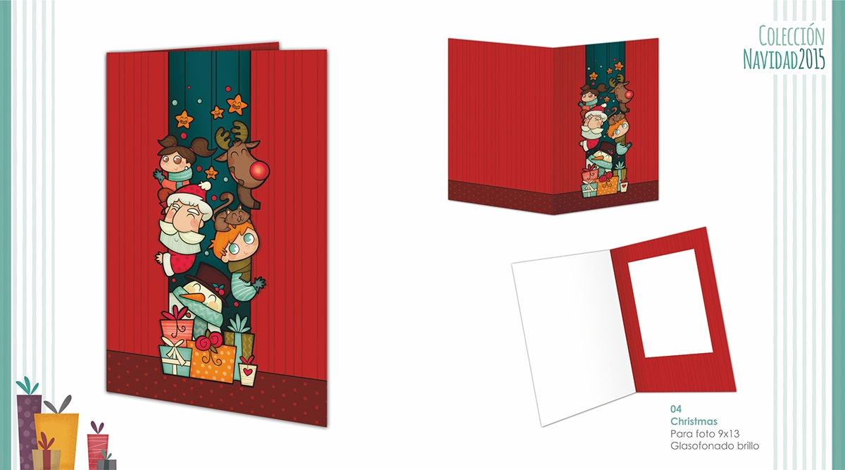 ilustracion Christmas colección infantil navidad