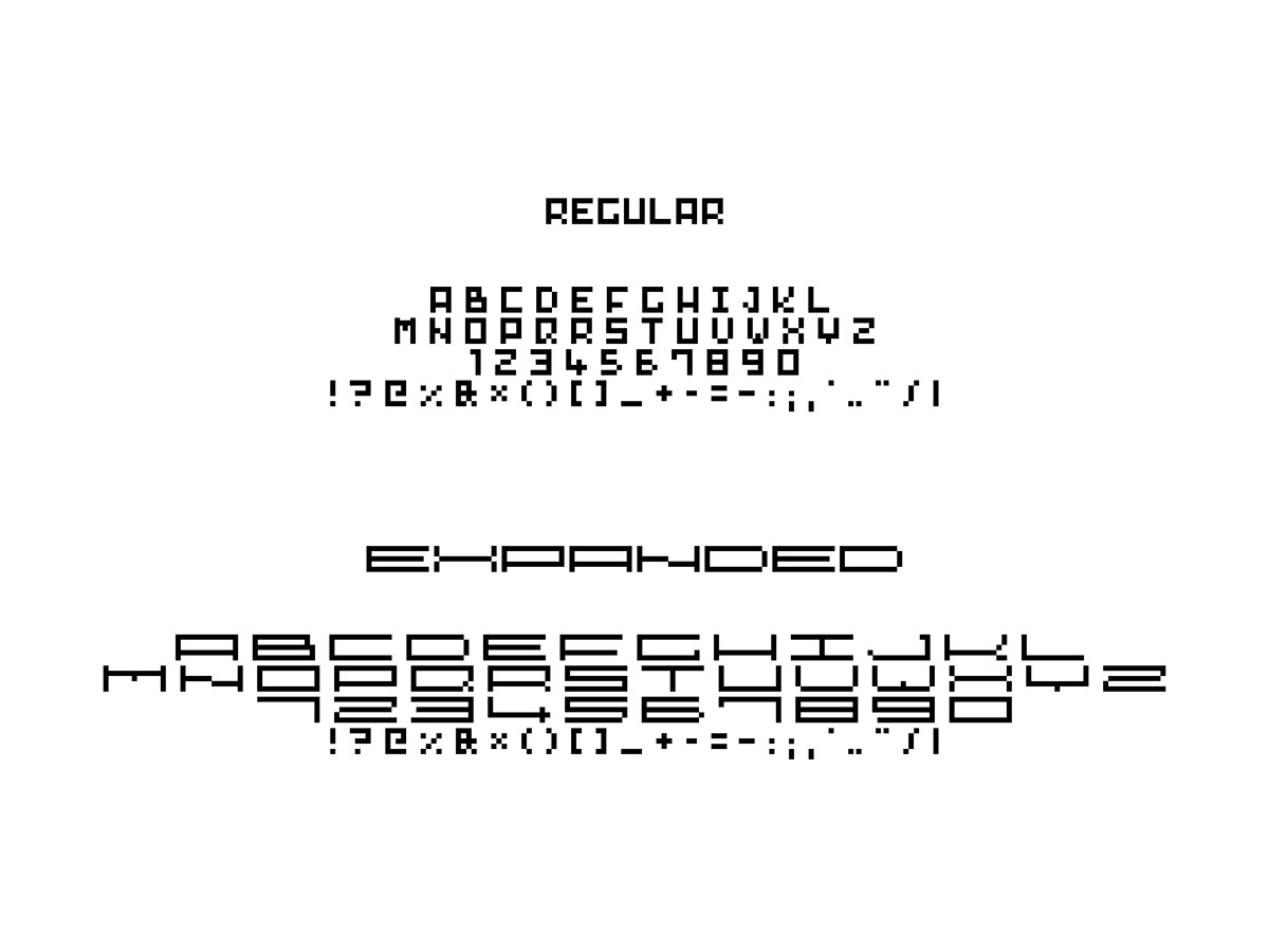 Versions of the typeface