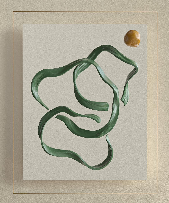 Render paint digitalart art 3D abstract CGI design c4d Zbrush