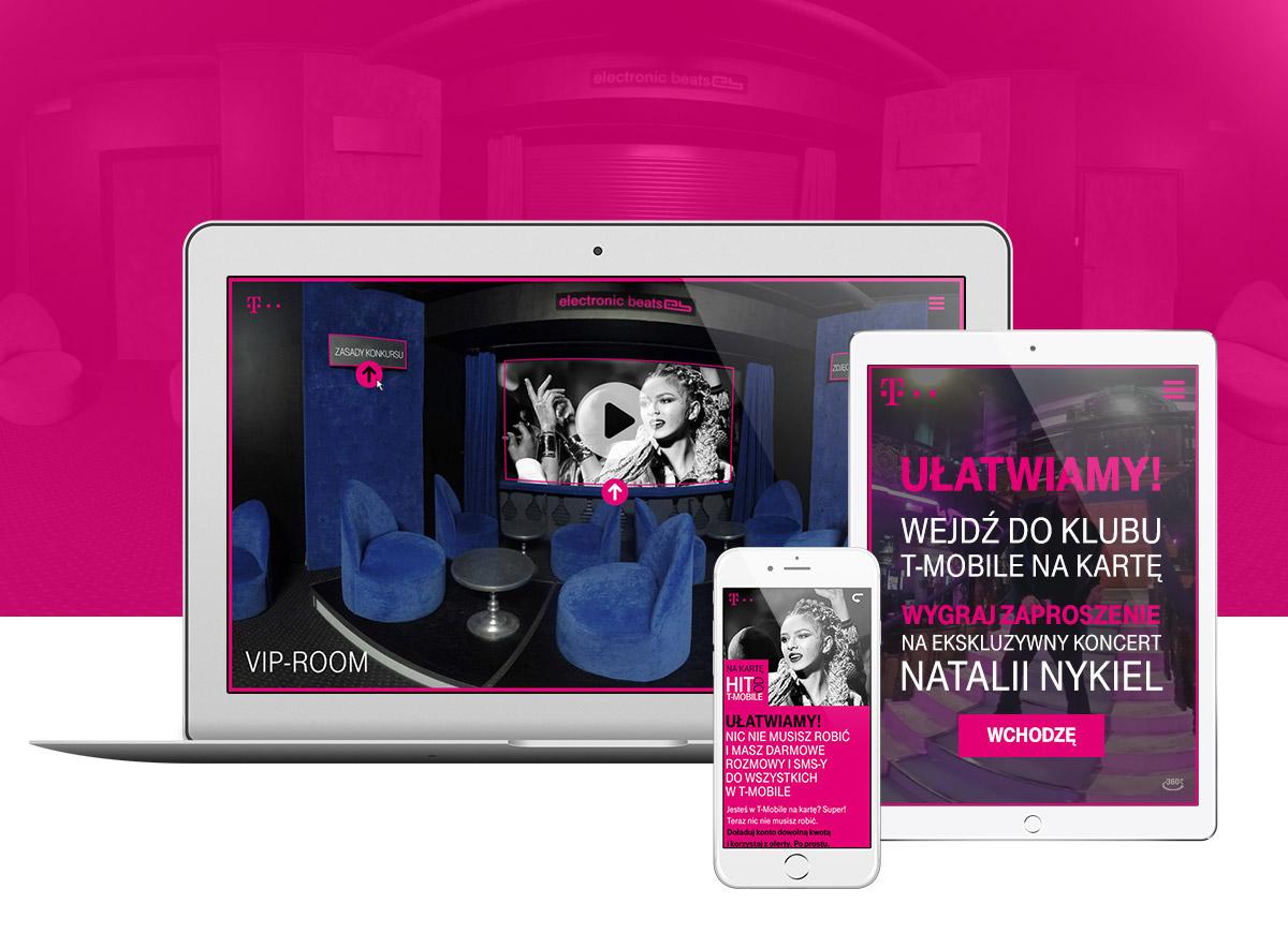 T-Mobile digital campaign Webdesign copywriting  interactive 360degrees