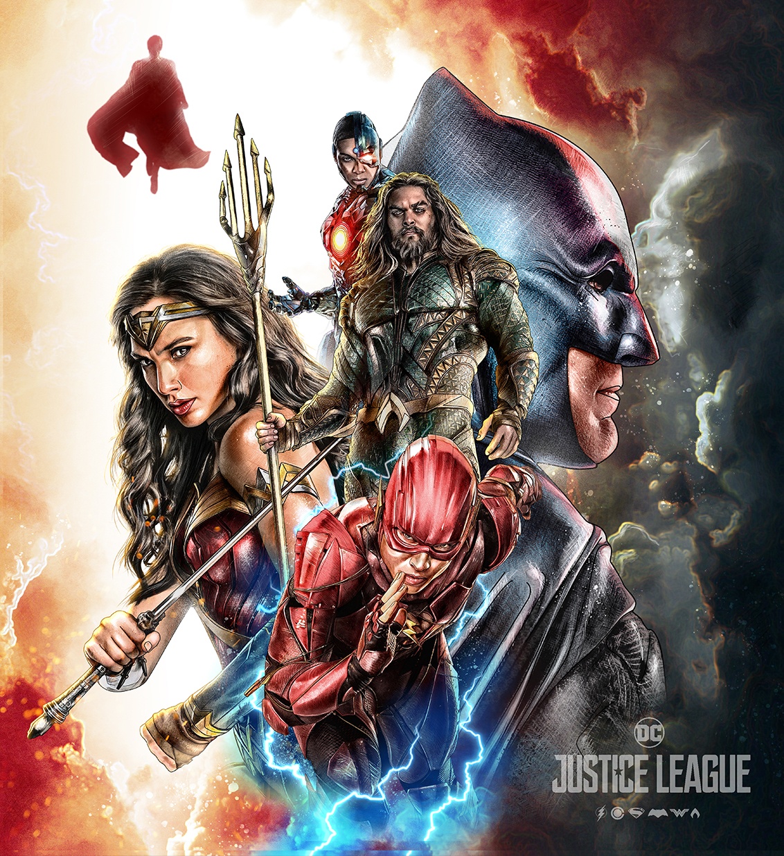 Warner Bros Dc Comics Justice League 2017 On Behance