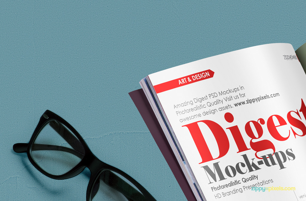 Mockup mockups mock up mock-up psd free freebie magazine digest ad advertisement
