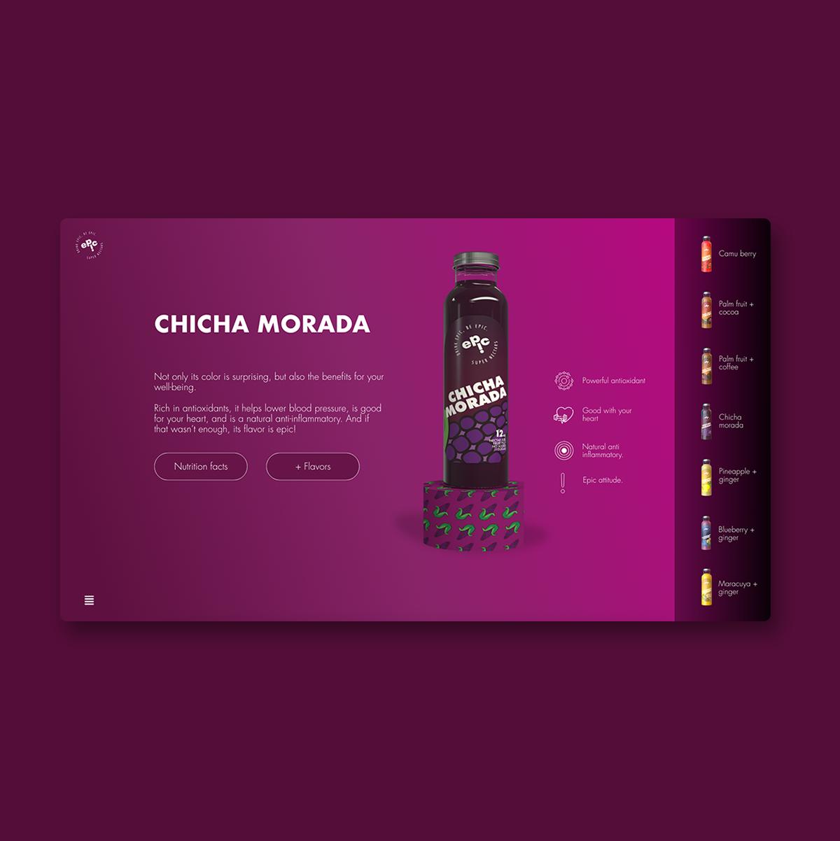 design drinks identity Packaging Website