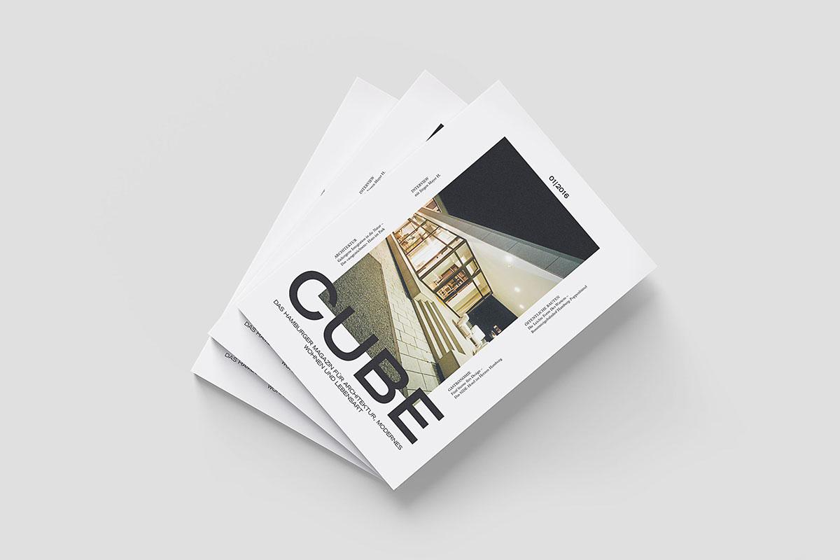 CUBE Magazine Redesign on Pantone Canvas Gallery
