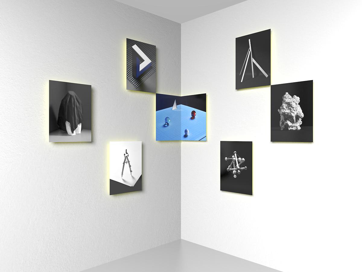 idea concept still life arranged David Biró alingment