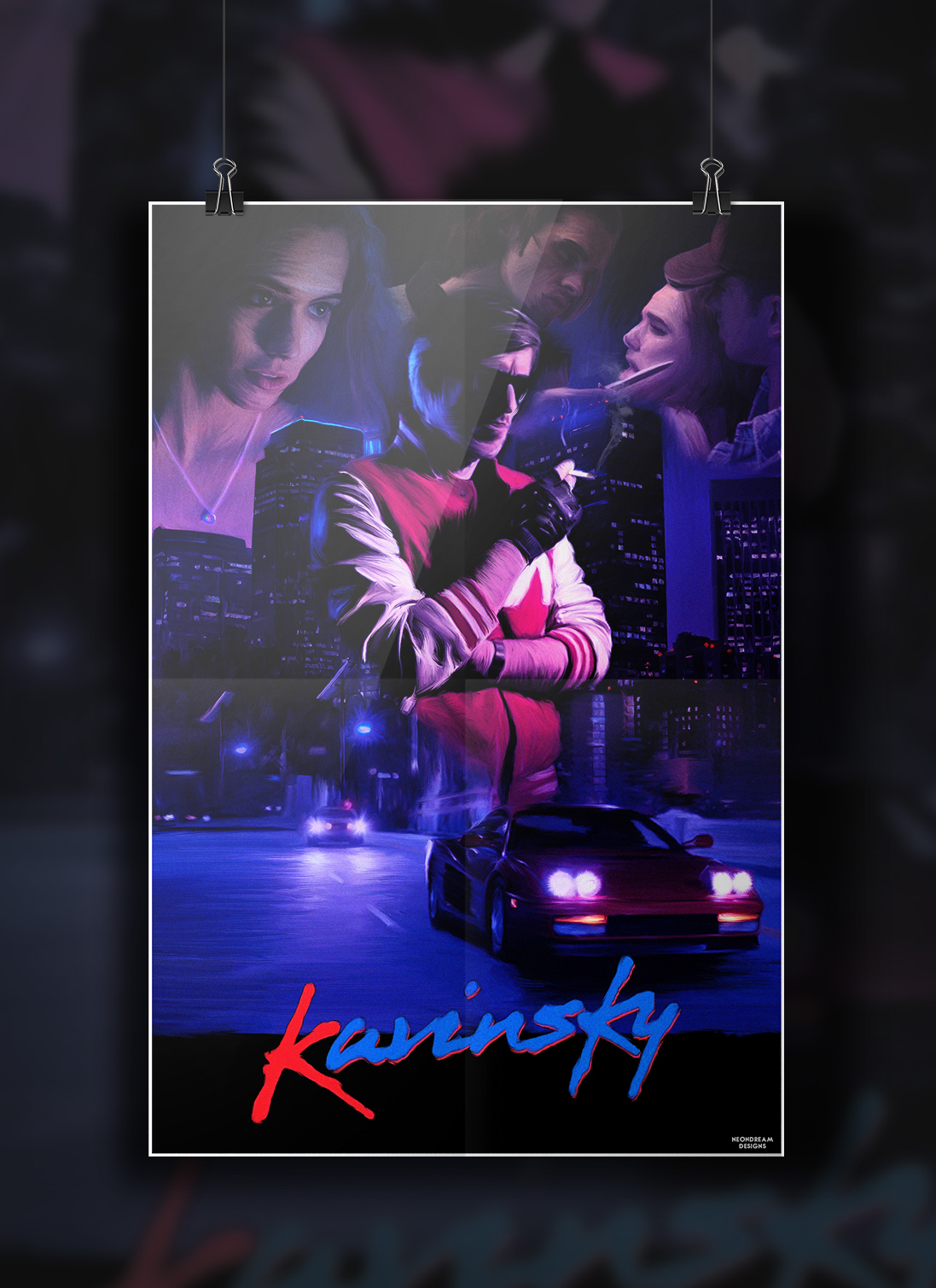 Kavinsky - Movie poster on Behance