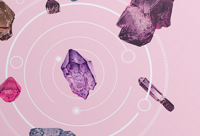 LP cover x-ray organs stones geometry vinyl