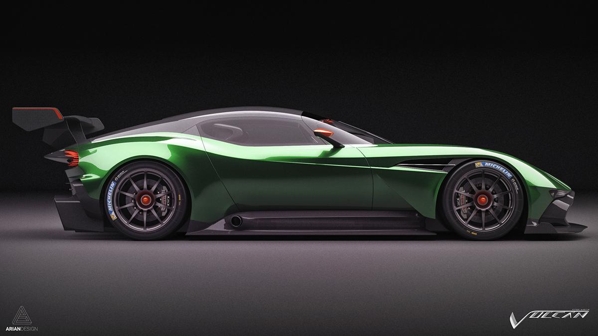 Aston Martin Vulcan Studio Shoots On Behance