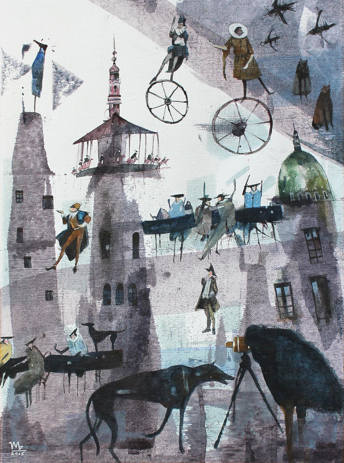 storytelling   fairytale Carnival Flying carousel
