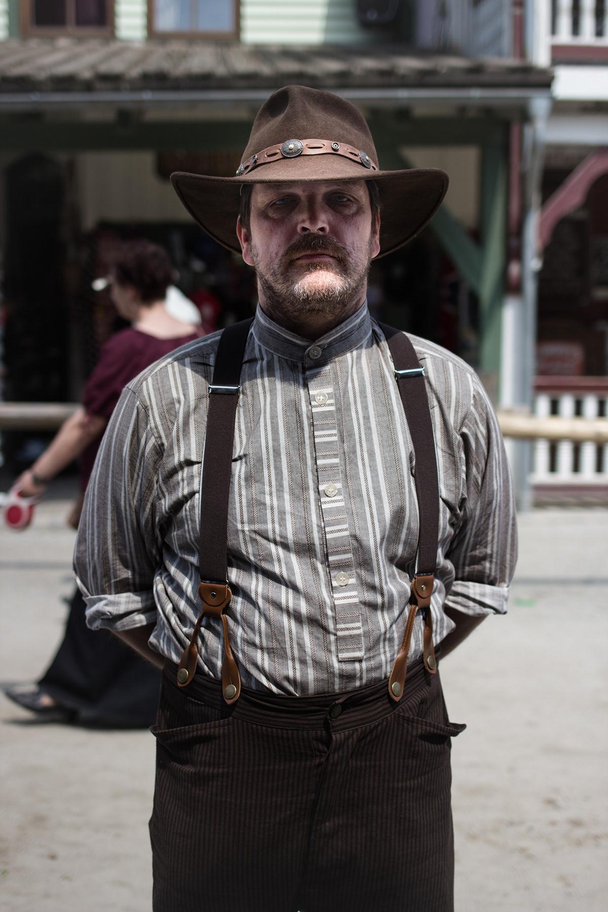 western Documentary  Bavaria Bayern Pullman city Show reportage photo costume
