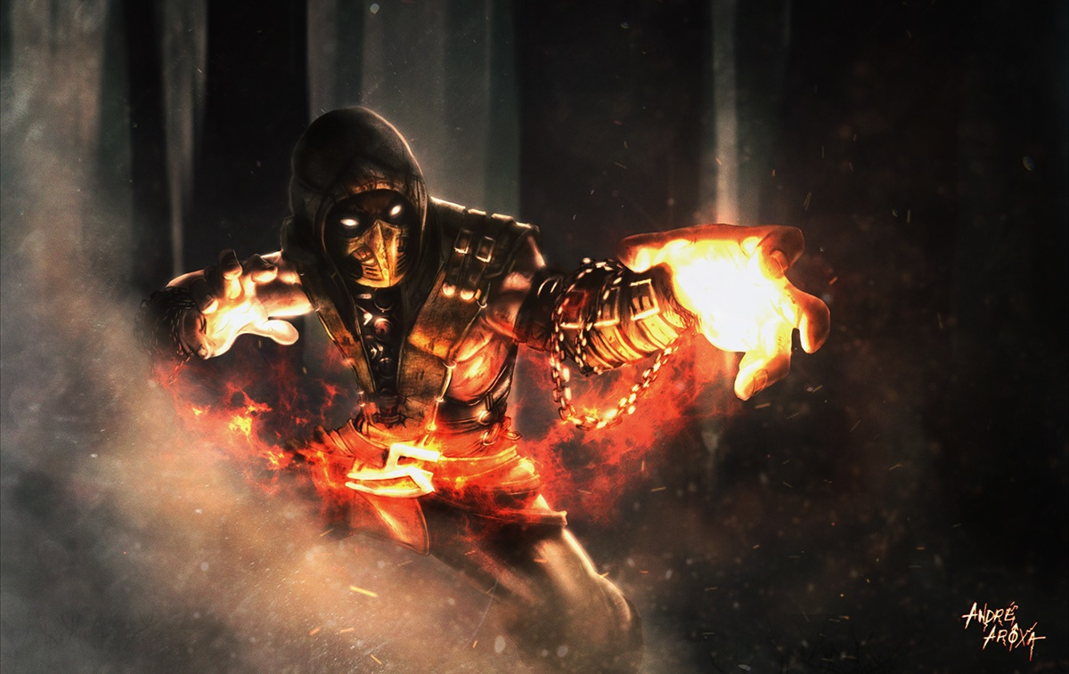 Scorpion Mkx Get Over Here On Behance