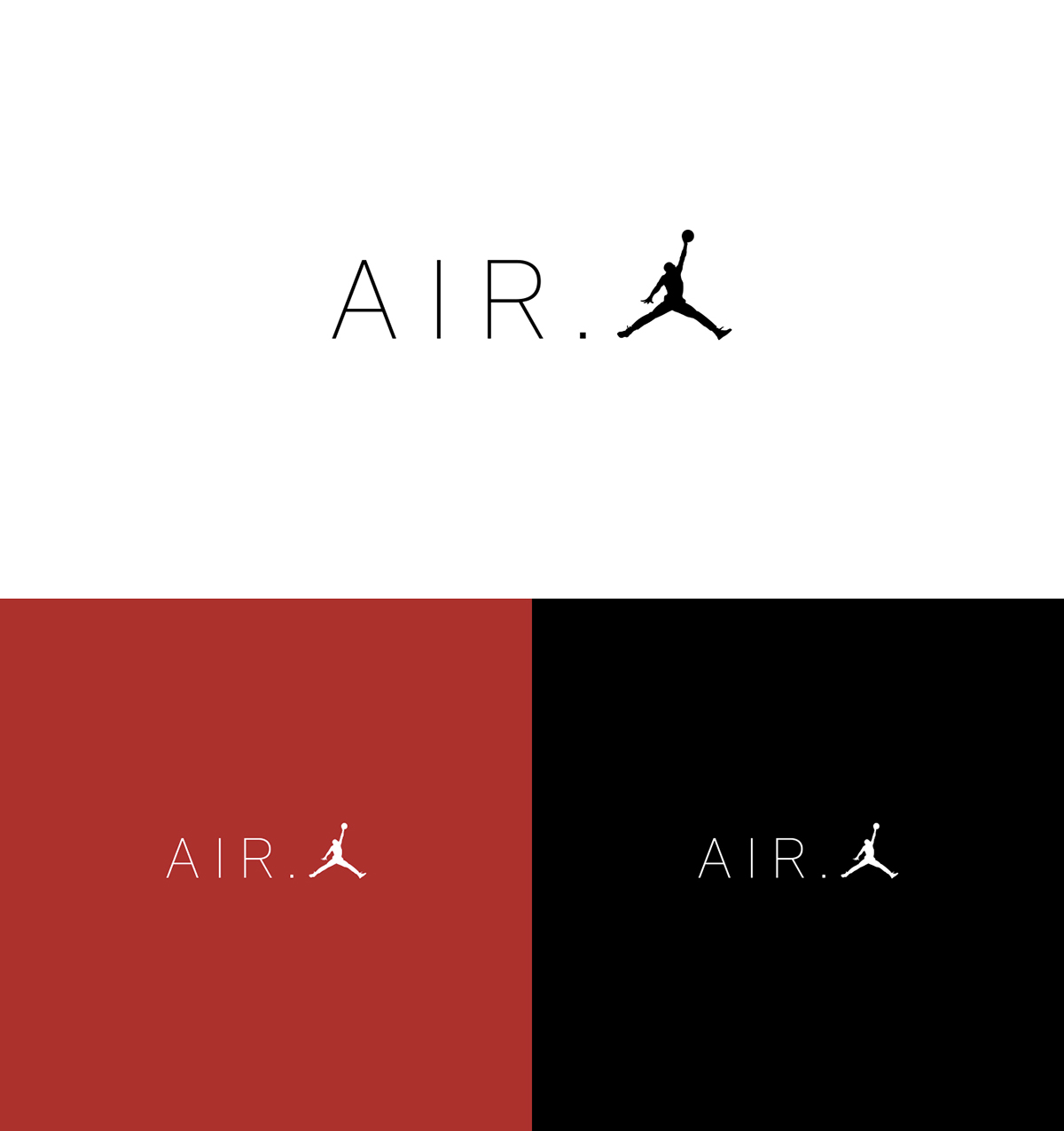 super populaire 148b0 4c39f AIR.JORDAN logo design on Student Show
