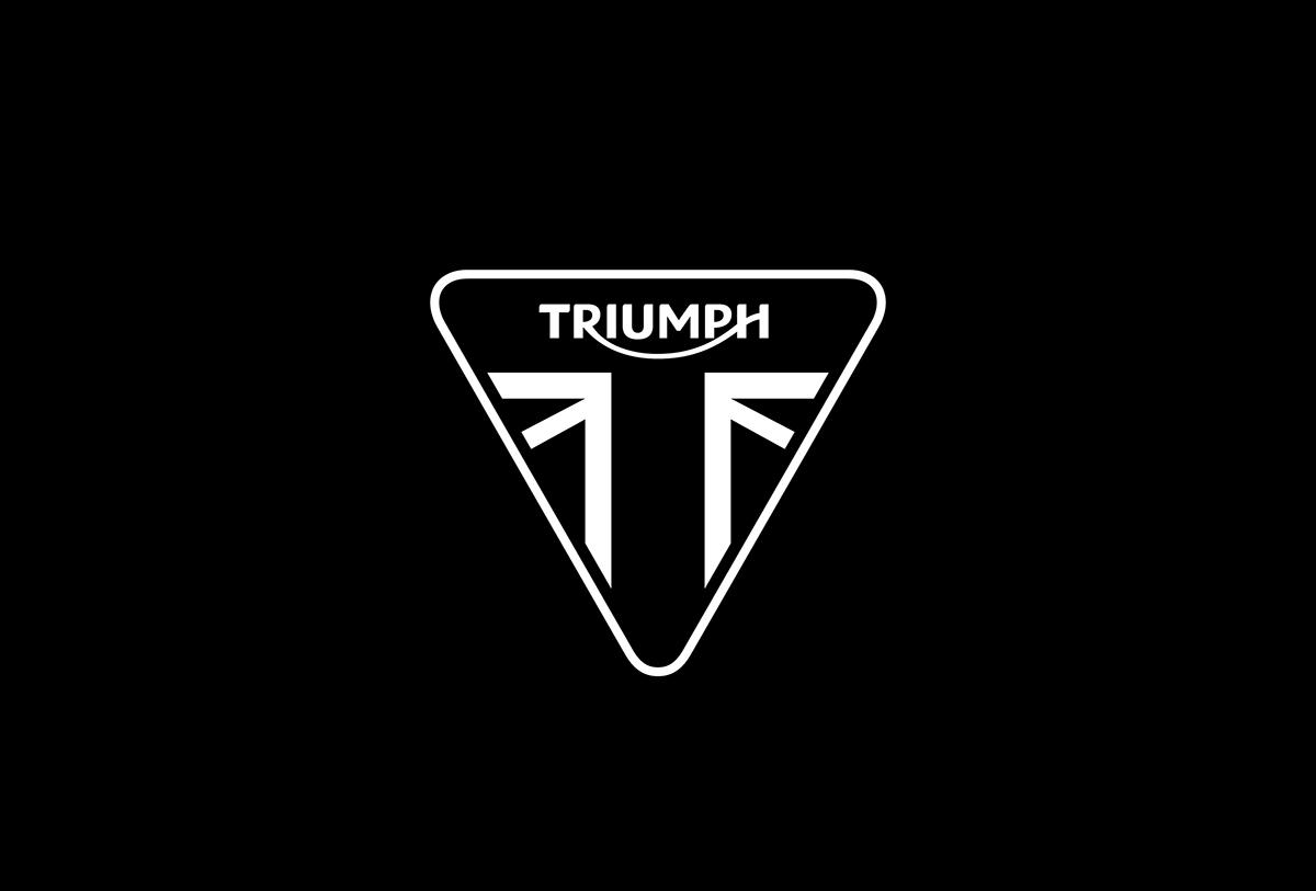 Triumph Motorbikes branding on Behance