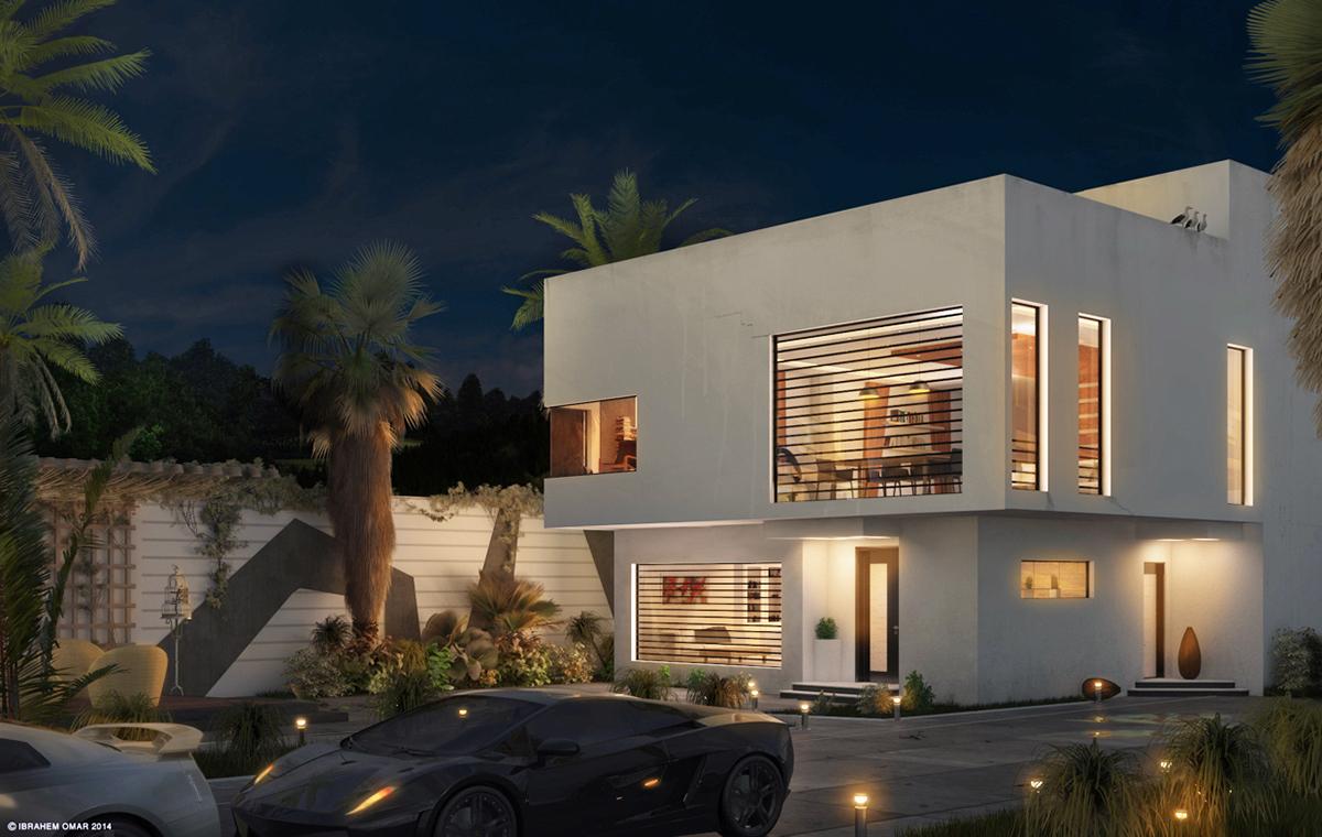 Modern Villa 03 On Behance