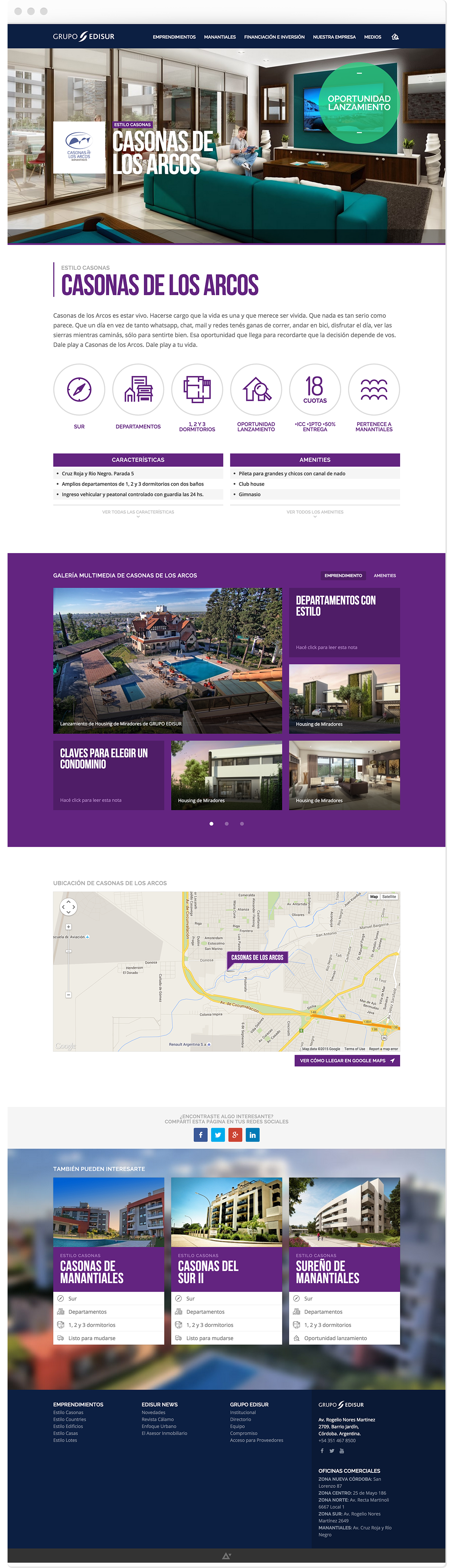 icons Responsive Web map flat line icons Interface gallery colors real estate