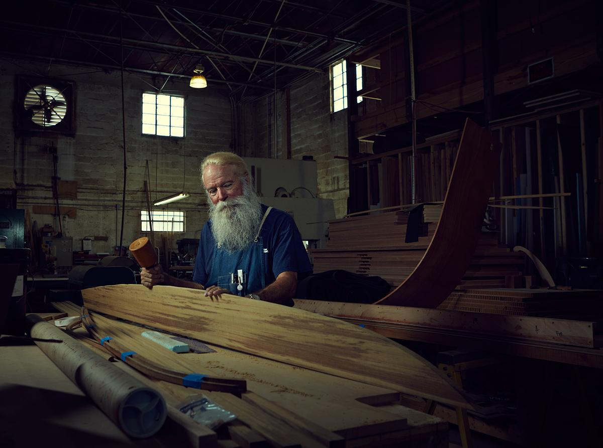 off-season santas santa people portraits environmental Christmas portrait series Photography  lighting editorial