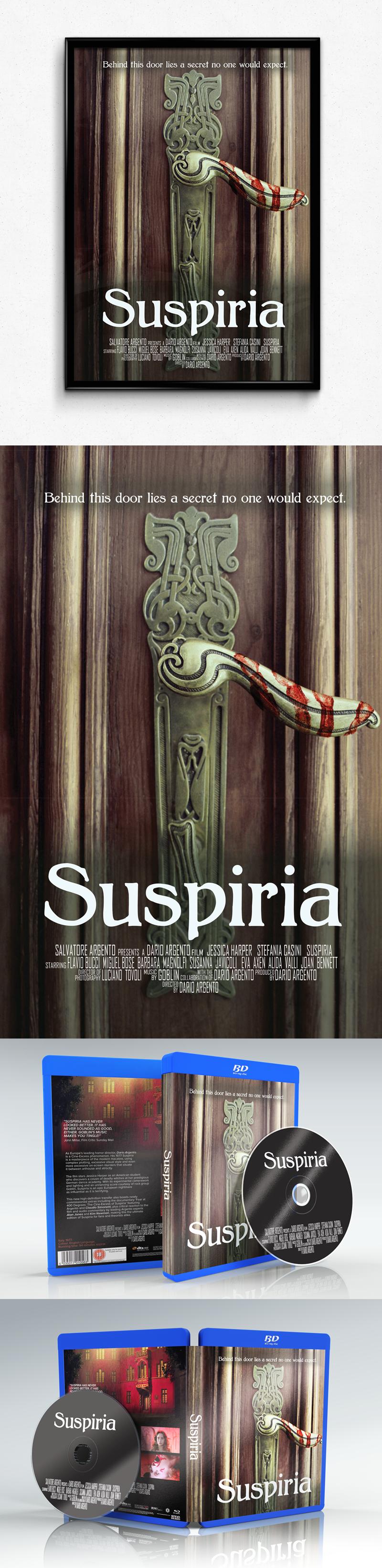 movie poster suspiria entertainment design