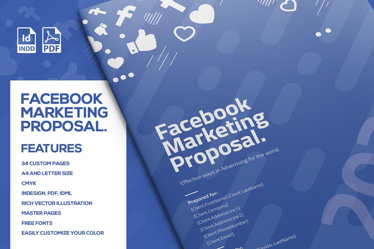 Facebook Marketing And Advertising Proposal On Pantone