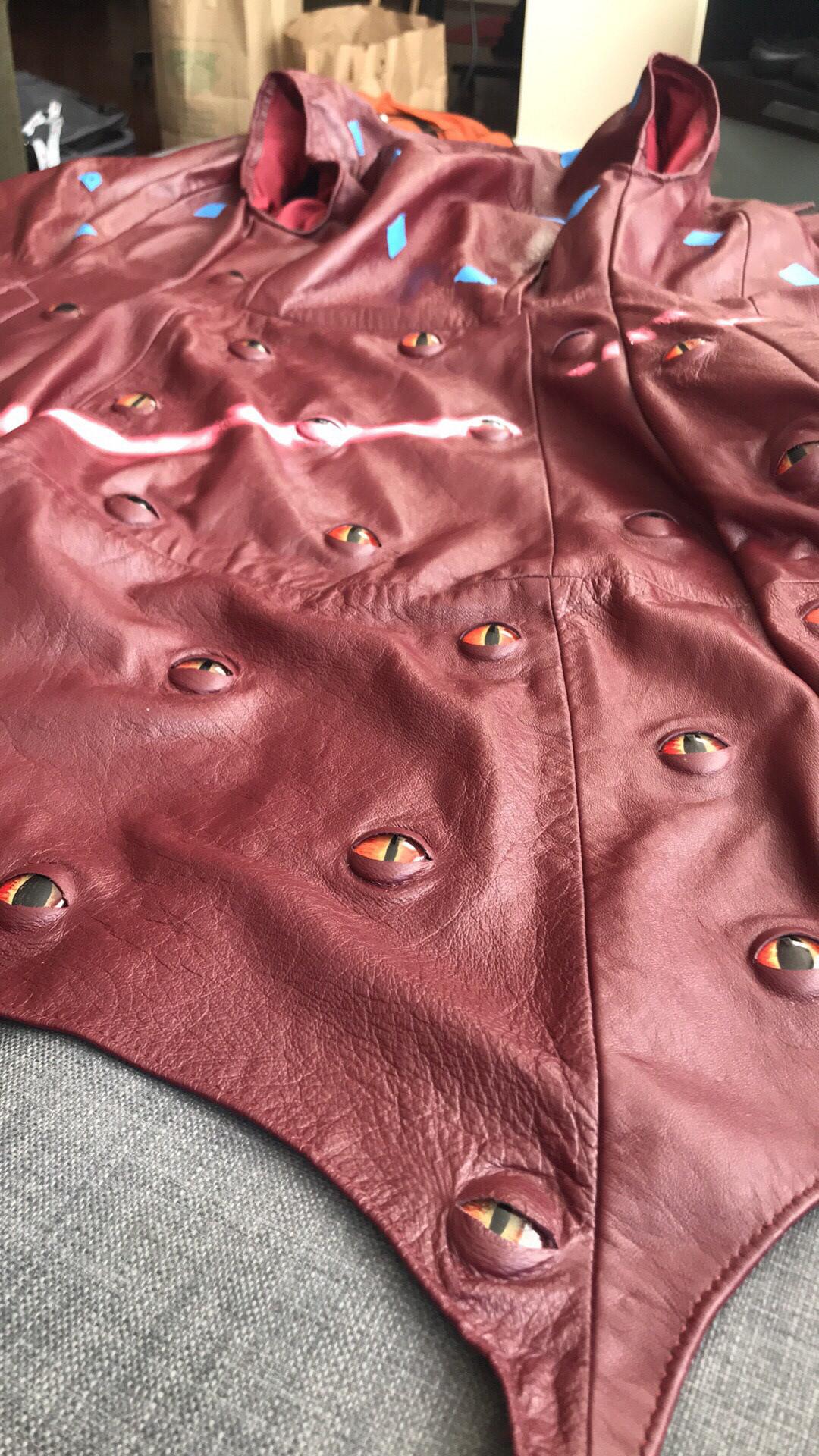 Altered Clothing costume demon Fashion  leathercraft