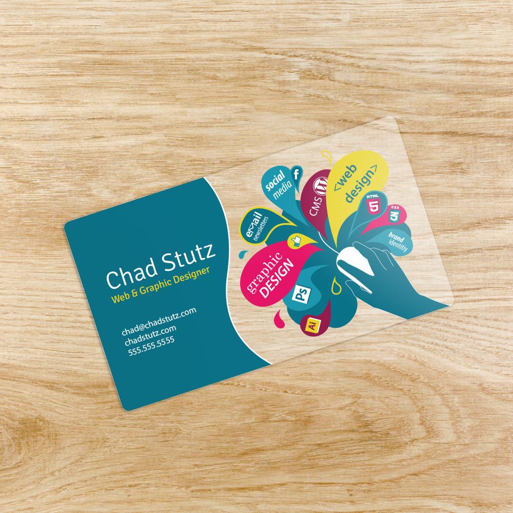 business card graphic design  Webs design adobeawards