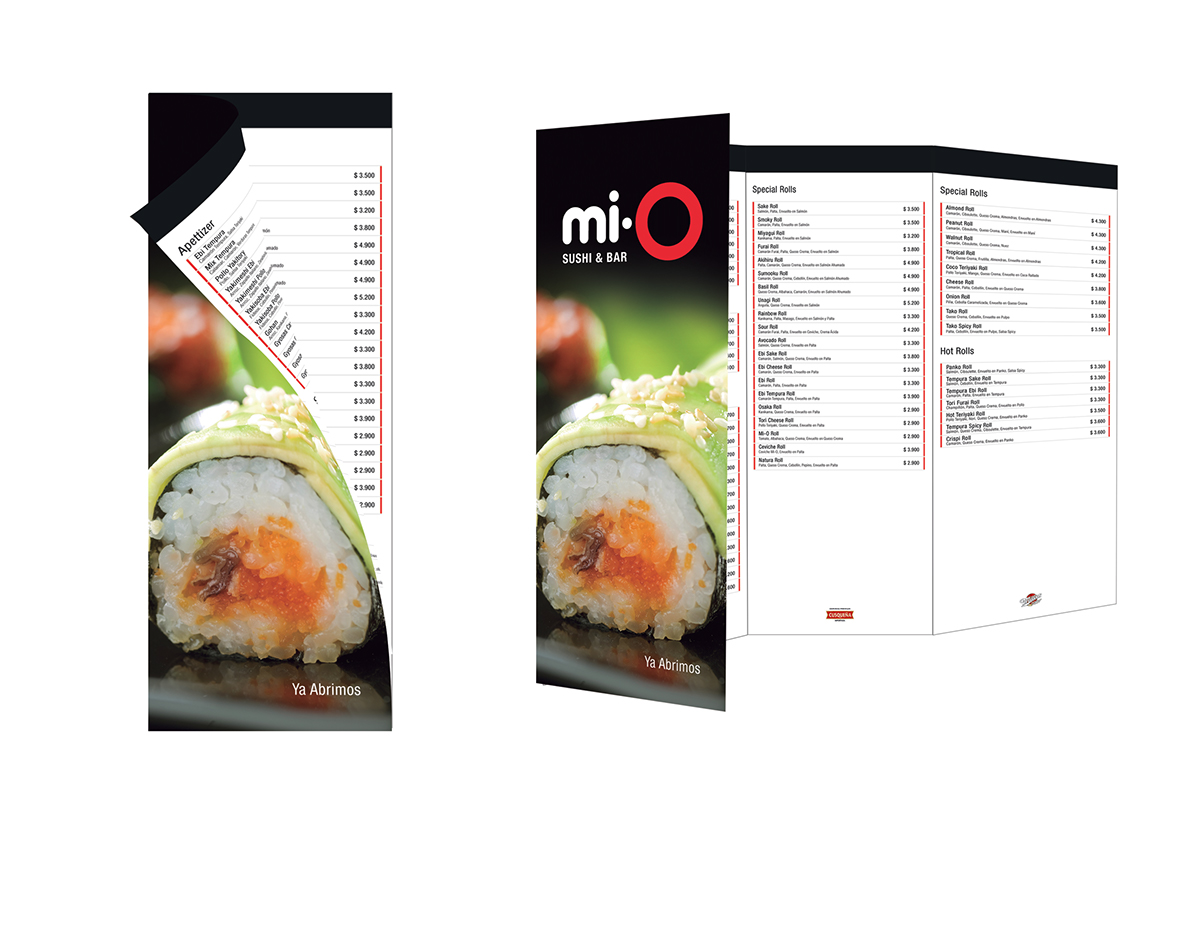 Mio sushi on behance for Jardin mallinkrodt