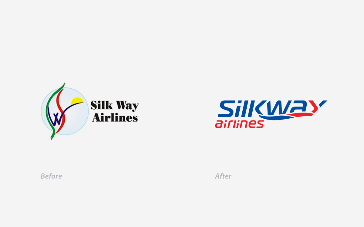 silk way airlines silkway airlines silkway logo azerbaijan baku Airways Airlines airline Cargo identity blue Boeing Logo Design stationary