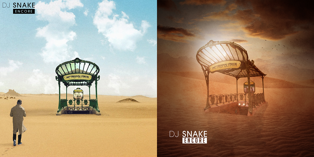 Dj Snake Quot Encore Quot Album Cover Fan Art On Behance