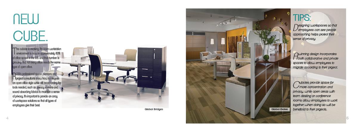 Sales Brochure office furniture Office Design Office Space print brochure digital brochure
