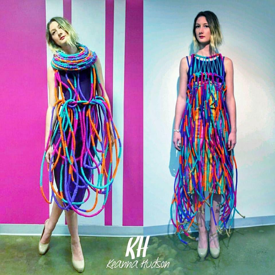 design textile fibers weaving apparel senior SCAD