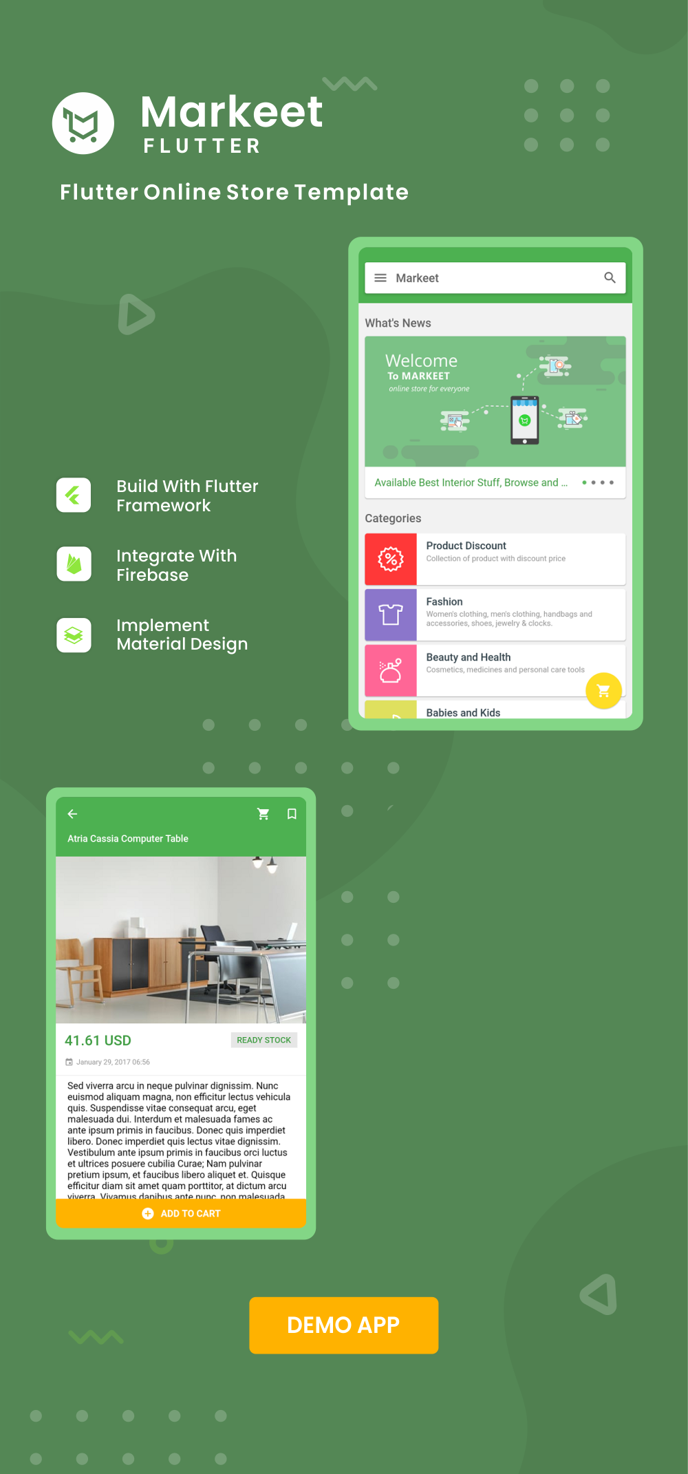 Markeet Flutter - Ecommerce Flutter App 2.0 - 3