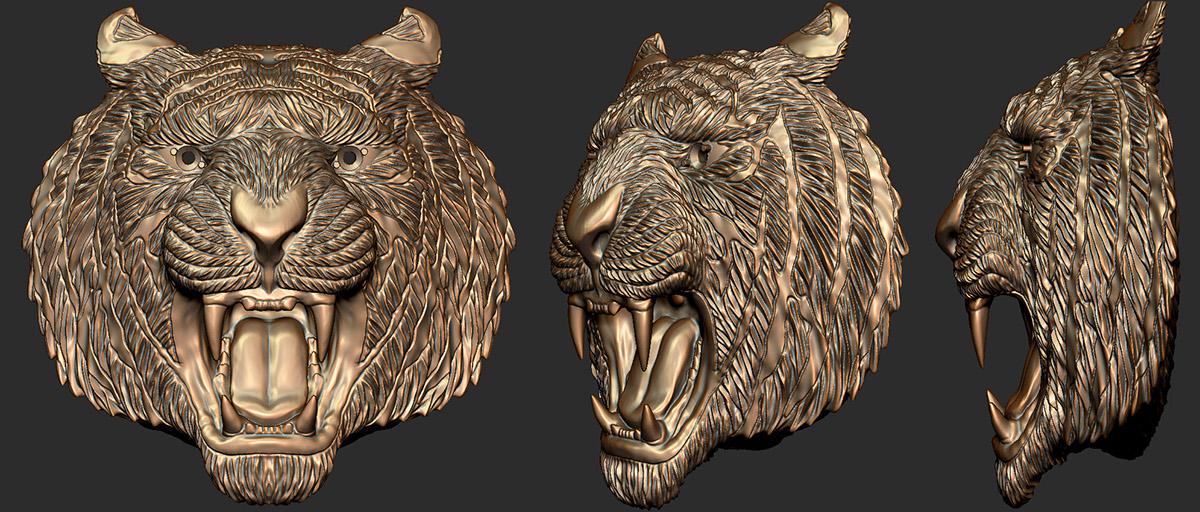 dragon 3D-model 3D-Print Zbrush jewelry