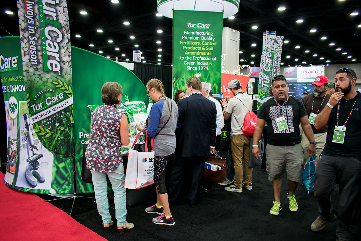 Turf Care Supply Corp Exhibition Booth on Behance