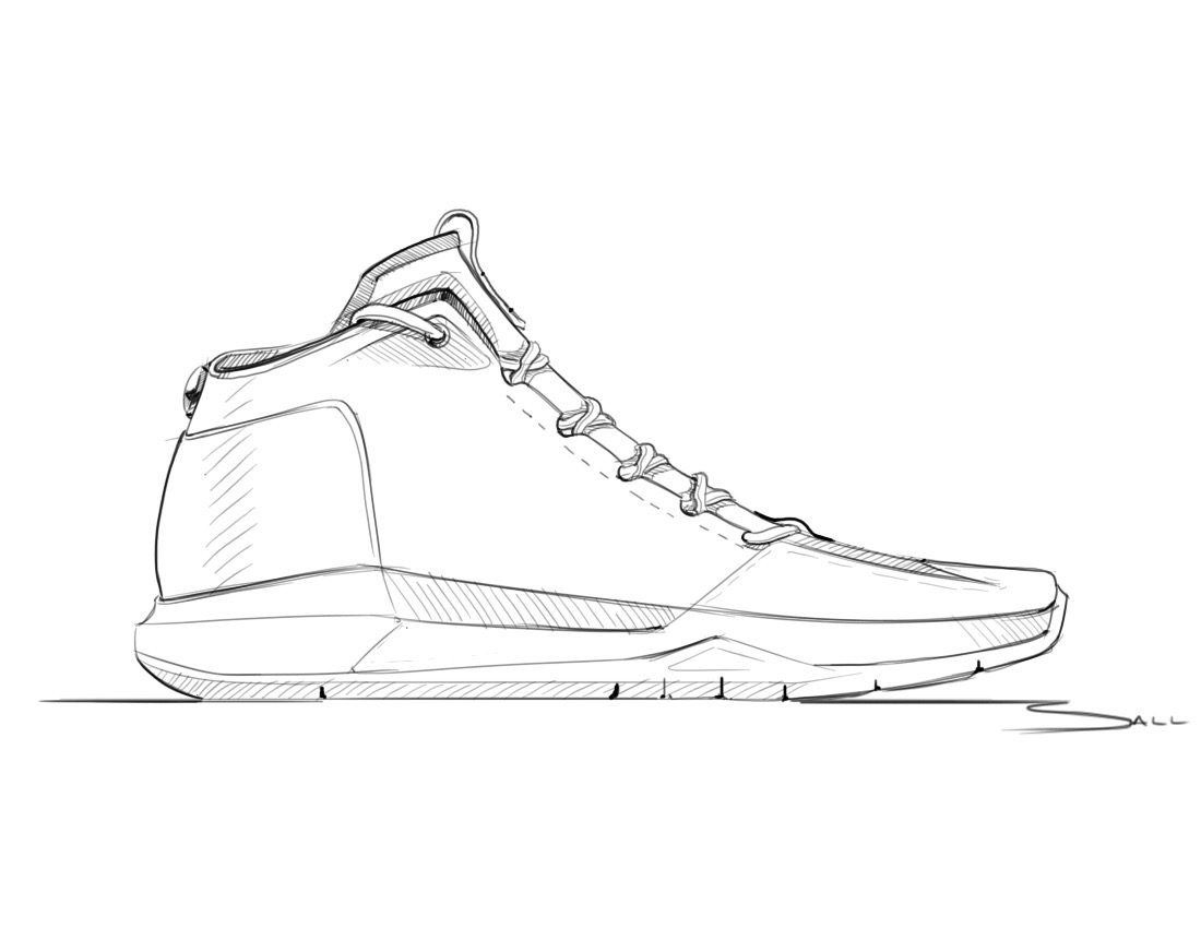 Line Drawing Shoes : Sketchbook on behance