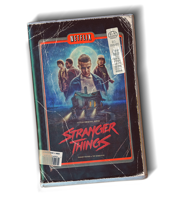 StrangerThings Netflix series fanart 80s Retro newretrowave thesonnyfive vhs